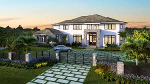 palmcorp semi custom homes in south fl miami real estate builders