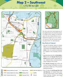 Atlanta Streetcar Map Atlanta Beltline Maplets