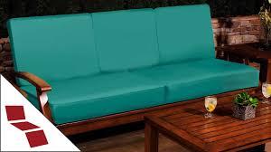 how to measure for custom sofa cushions youtube