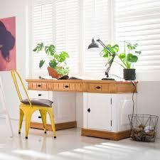 Schreibtisch Bis 50 Euro Alby Weiß Natur Massiv Landhausstil