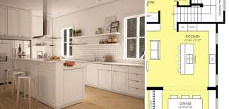 Kitchen Floor Plan Symbols Appliances How To Read A Floor Plan Time To Build
