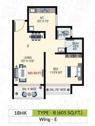 Mandir Floor Plan by Shree Balaji Garden Shree Balaji Enterprises At Dombivali East