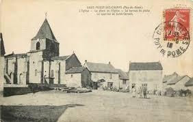 bureau de poste priest cpa 63 priest des chs la place de l eglise et le