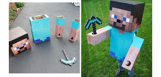 Minecraft Costume 10 Diy Minecraft Birthday Party Ideas Craftriver