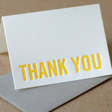 thank you card simple and modern thank you cards dannie u0027s designs