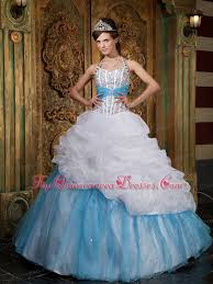 quinceanera dresses white blue and white quinceanera dresses sweet 16 dresses in blue and white