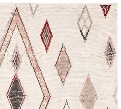 loop rugs anja wool loop rug pottery barn