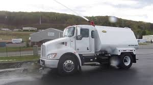 new kenworth trucks new kenworth t270 2 250 gallon water truck built by hec youtube