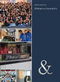 financial report cover page annual report and proxy jpmorgan chase u0026 co