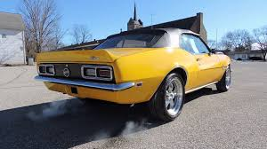 yellow chevy camaro for sale 1968 chevy camaro ss yellow convertible for sale at