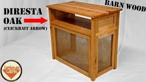 custom media table with wood from jimmy diresta matt thayer