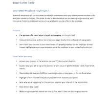 Cover Letter Guide Communication Trainer Cover Letter