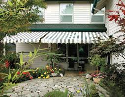 Modern Retractable Awning Retractable Awnings Pure Tech Window Fashion