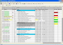 Simple Project Plan Template Excel Easyprojectplan Excel Gantt Chart Template Planner Software