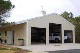 Building A Two Car Garage Custom Prefabricated Steel Garage Buildings One U0026 Two Car Metal