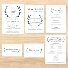 exles of wedding programs lgbt wedding invitations mr mr laurel leaves invitations by r2