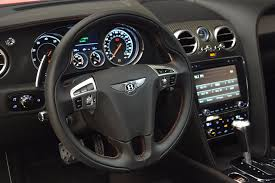 bentley steering wheel 2016 bentley continental gt v8 s stock b1223 for sale near