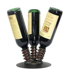wine rack ceramic 3 bottle wine holder 3 bottle wine holder