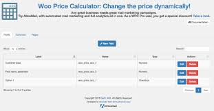 how to calculate square feet wooprice calculator u2014 wordpress plugins