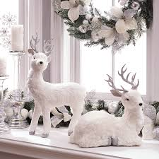 turn your home into a winter wonderland by adding white accent
