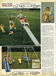 Sears Backyard Playsets 15 Pages From The 1983 Sears Wish Book That Will Make You Feel