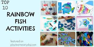 ten rainbow fish activities play learn