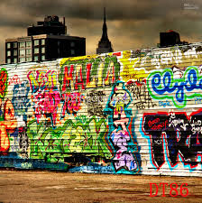 2018 vinyl outdoor graffiti photography background custom screen