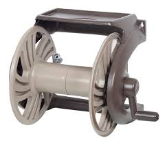 neverleak poly wall mount hose reel with tray ames