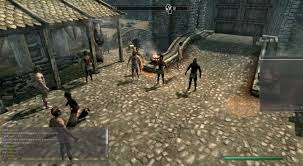 mod for online game skyrim multiplayer mode now available through a pc mod