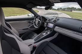 porsche 2017 interior 2017 porsche 718 cayman first drive review performance trumps