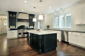 white and wood cabinets black white and brown kitchen full size of ideas dark wood cabinets