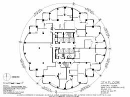 Airport Floor Plan by Airport Tower Irvine California
