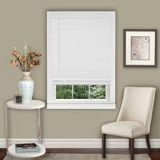 Home Decorators Collection Faux Wood Blinds 2 Cordless Faux Wood Blinds Blinds The Home Depot