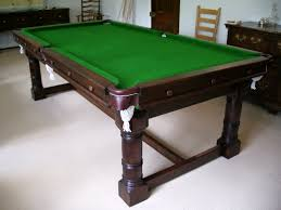 Pool Dining Table by Bar Billiard Tables For Sale Uk Snooker And Pool Table Recovering