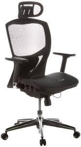 fauteuil bureau haut de gamme hjh office 657000 chaise de bureau venus one tissu maille noir