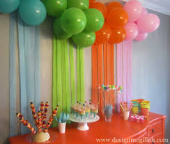 awesome birthday home decoration ideas decor color ideas top on