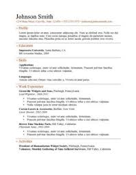 7 free resume templates microsoft word template and microsoft