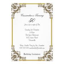 free 50th birthday party invitation templates wedding favor cards