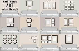 que mettre au dessus d un canapé comment mettre des tableaux au dessus d un canapé maison