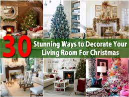 30 stunning ways to decorate your living room for christmas diy 30 stunning ways to decorate your living room for christmas diy crafts