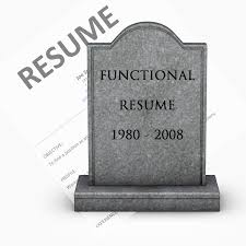 example of the resume the functional resume is dead the resume place the functional resume is dead