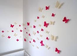 deco chambre bebe fille papillon décoration papillon chambre inspirations et lot de