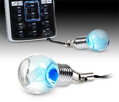 lights when phone rings coolest latest gadgets light bulb phone charms let you know when