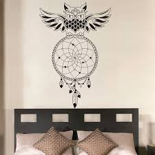 Owl Wall Decor by Aliexpress Buy Catcher Bedroom Owl Wall Decal