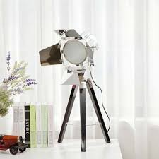 fashion style desk lamps chrome table lamps industrial lighting