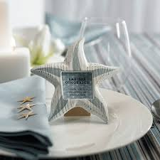 picture frame wedding favors small wooden starfish photo frames the knot shop