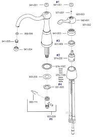 parts of a kitchen faucet diagram delta kitchen faucet repair parts bloomingcactus me