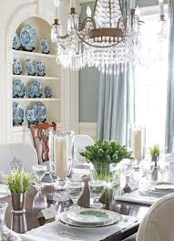 dining room decorations inspired by colors of spring
