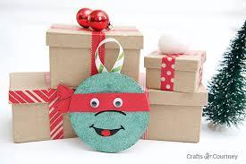 diy coaster tmnt ornaments
