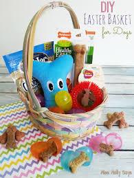 easter basket for diy easter basket for dogs miss molly says